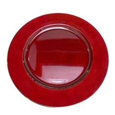 Red Spectrum Collection Charger Plate