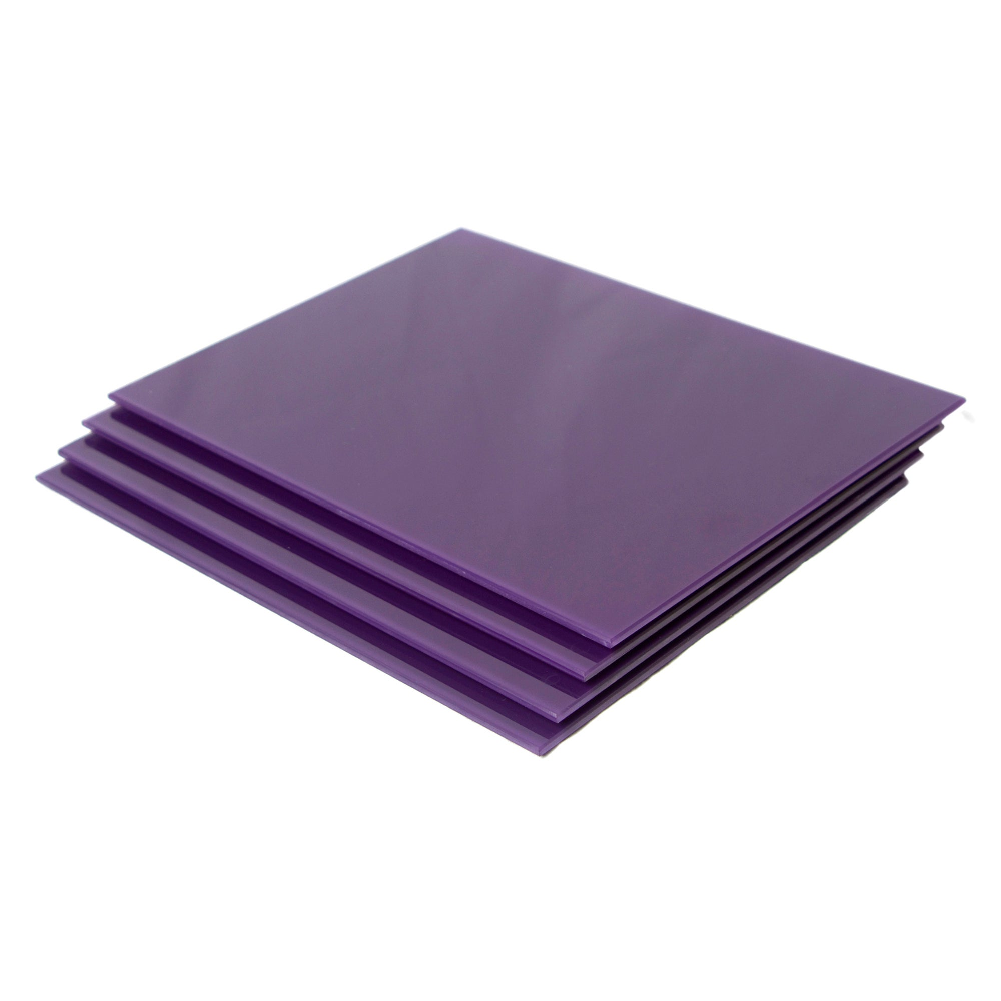 Purple Spectrum Collection Set of 4 Glass Placemats