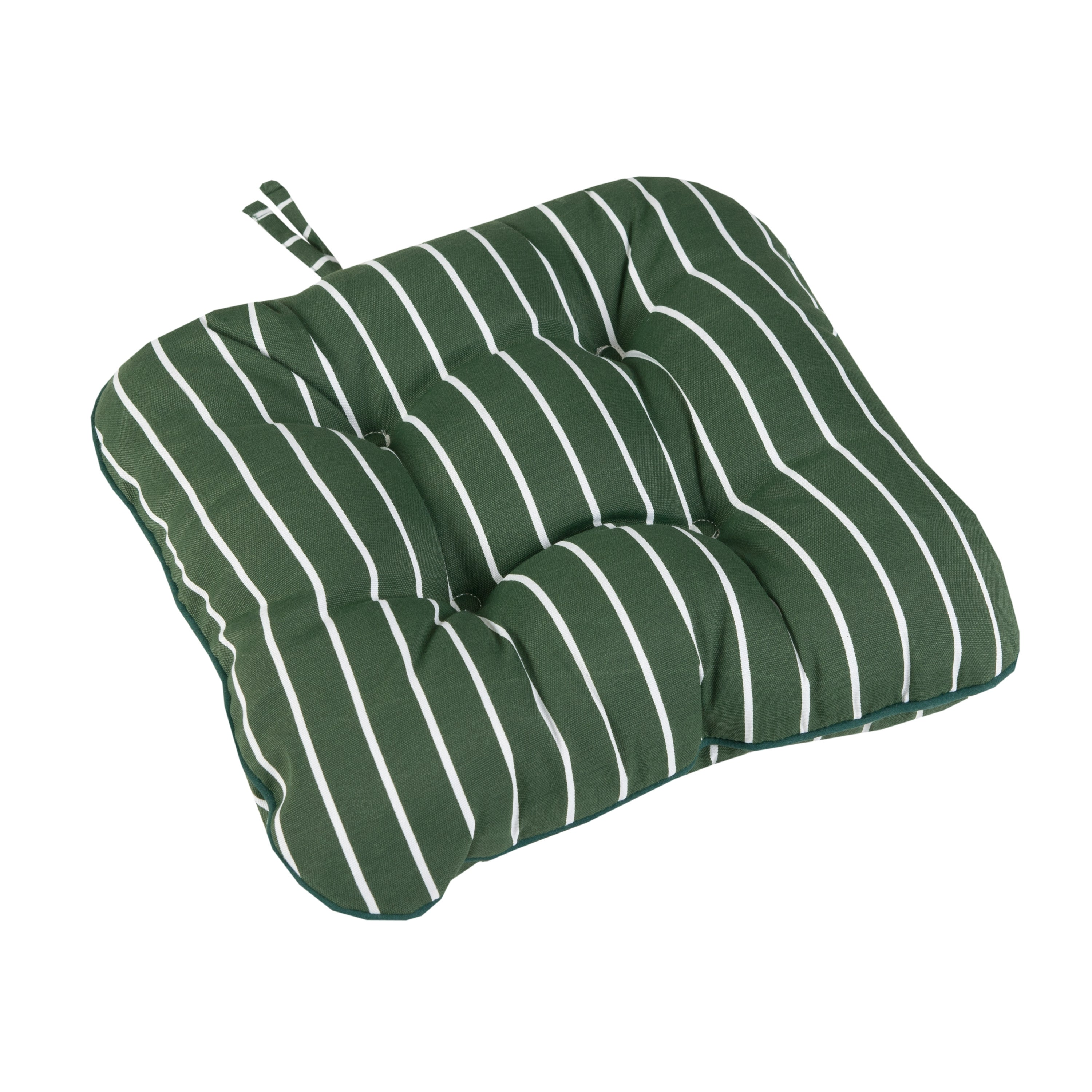 Green Stripe Seat Pad
