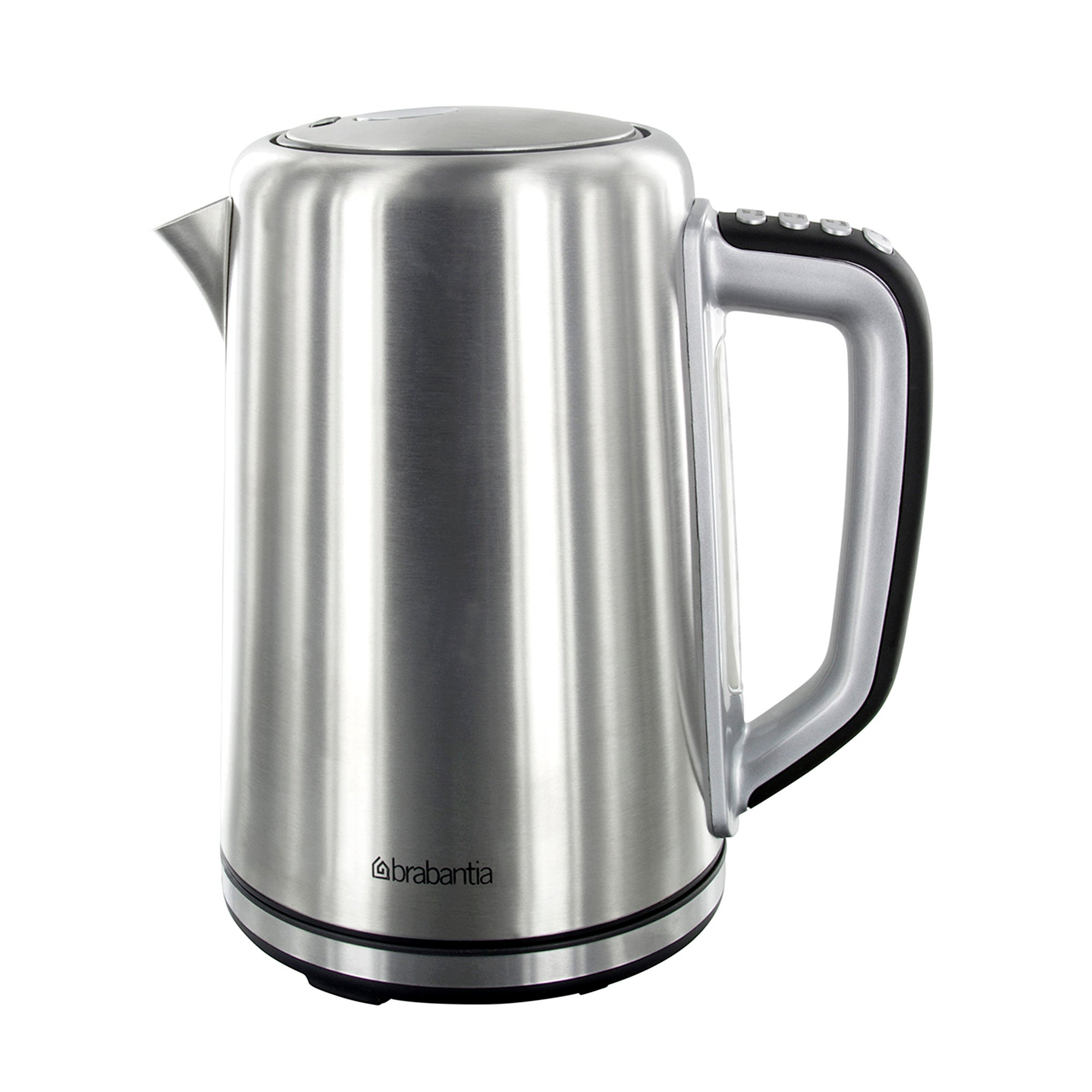Brabantia Stainless Steel Soft Grip Digital Kettle