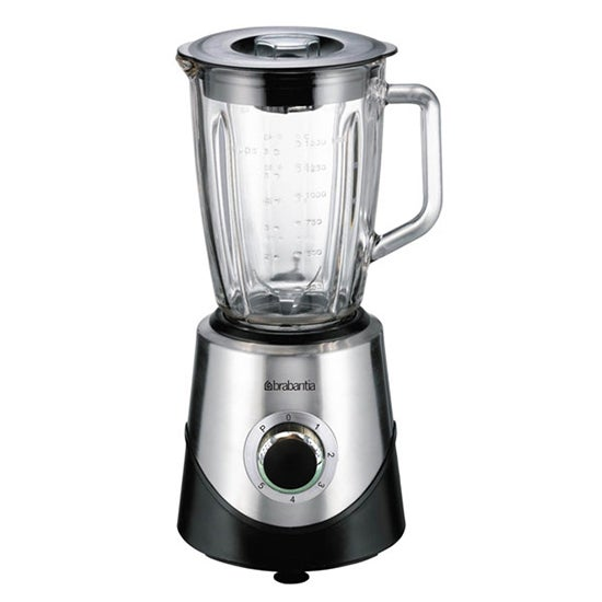Brabantia Silver Stainless Steel Table Blender