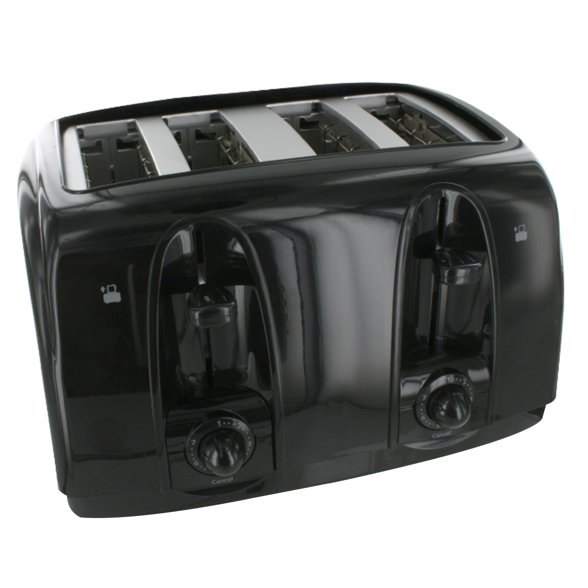 Simply Black 4 Slice Toaster