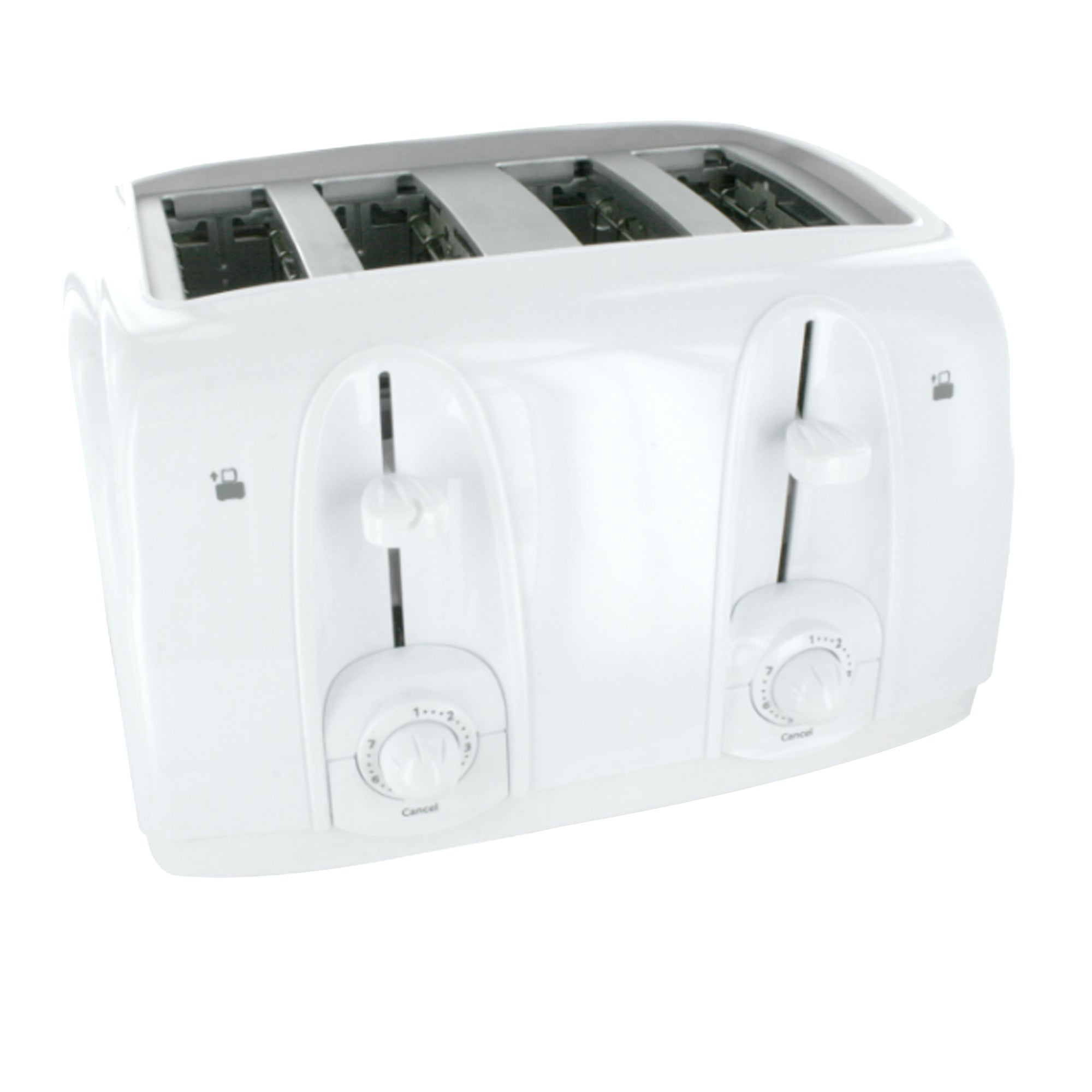 Simply White 4 Slice Toaster