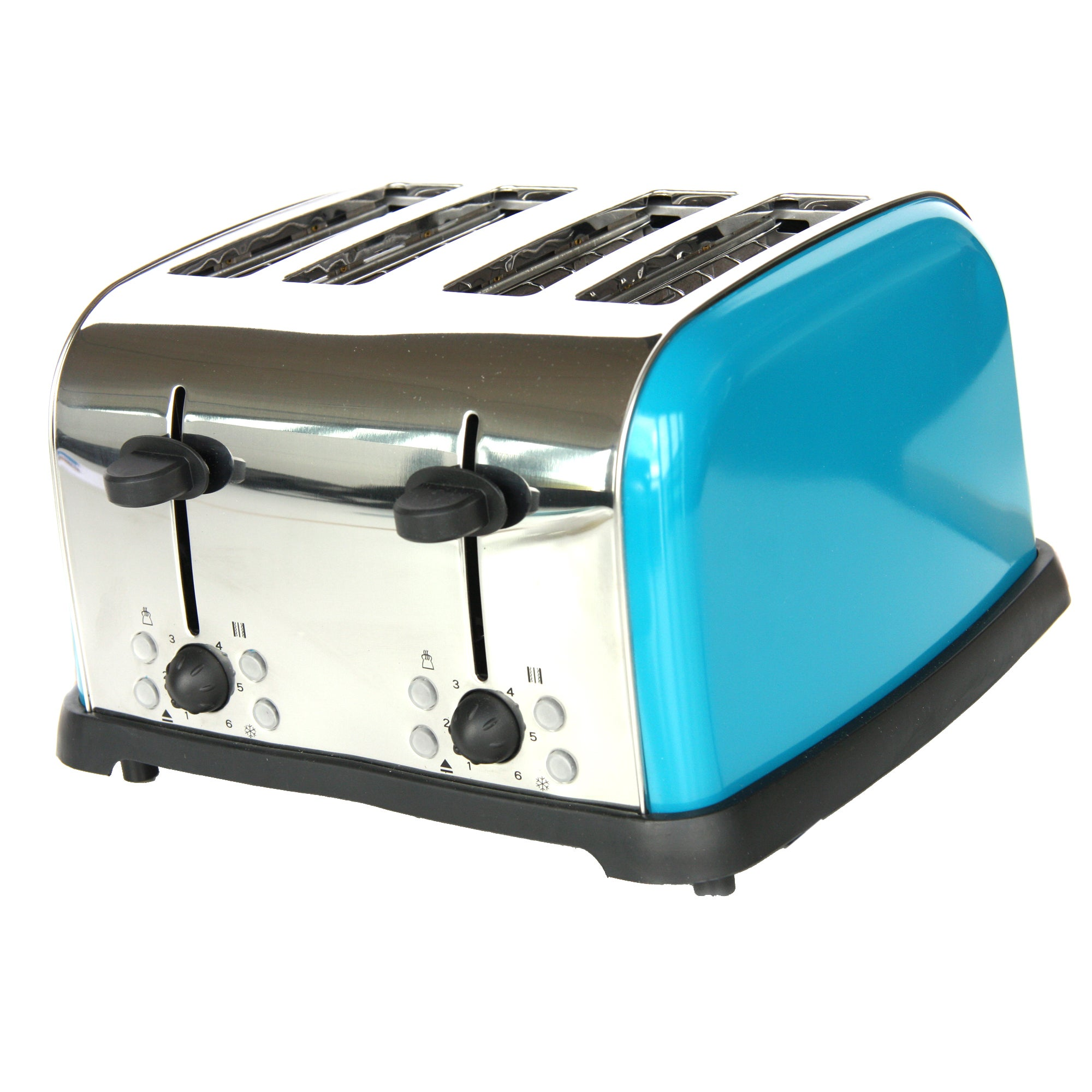 Teal Spectrum 4 Slice Toaster