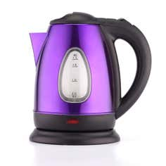 Spectrum Purple Stainless Steel Kettle
