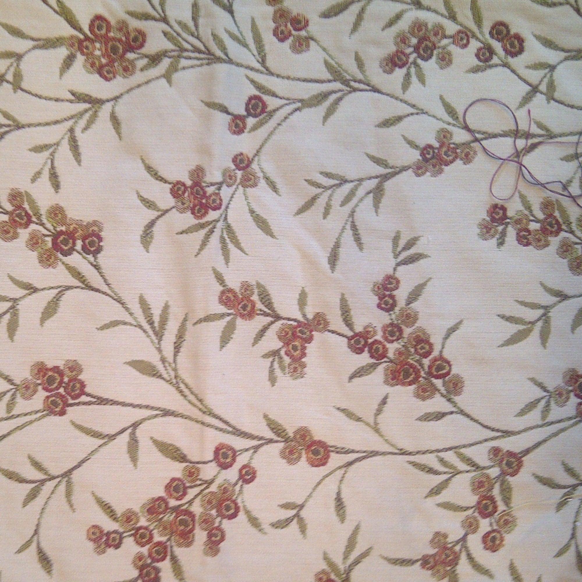Cream Bergamo Embroidered Fabric