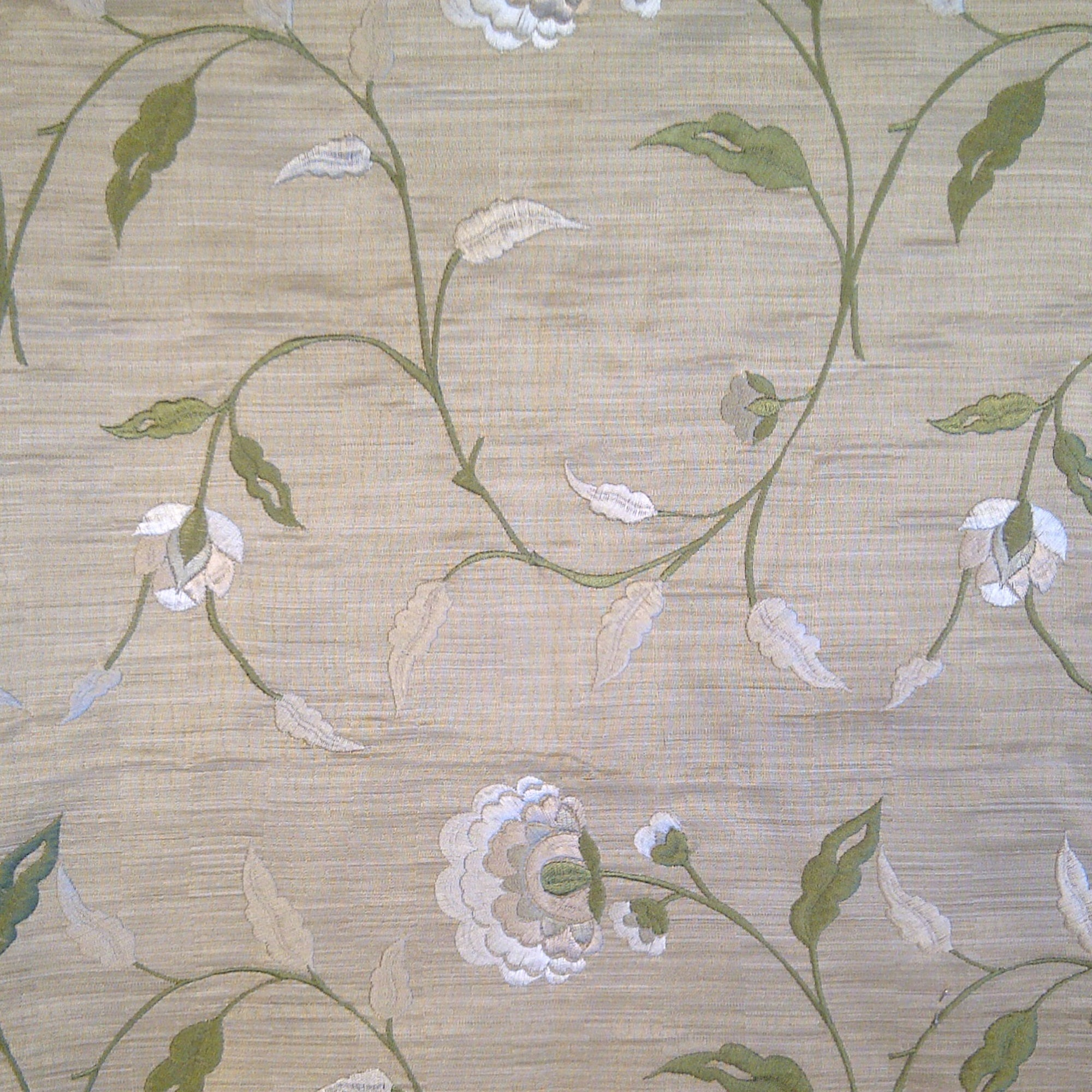 Fawn Jacinto Embroidered Fabric
