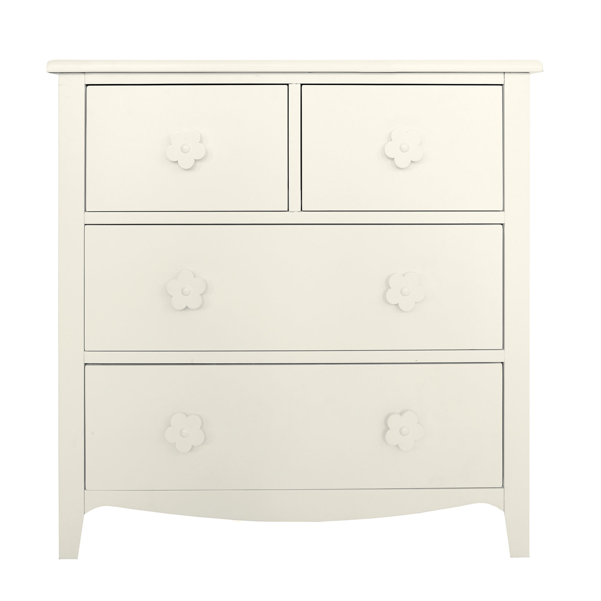 Kids Daisy 4 Drawer Chest