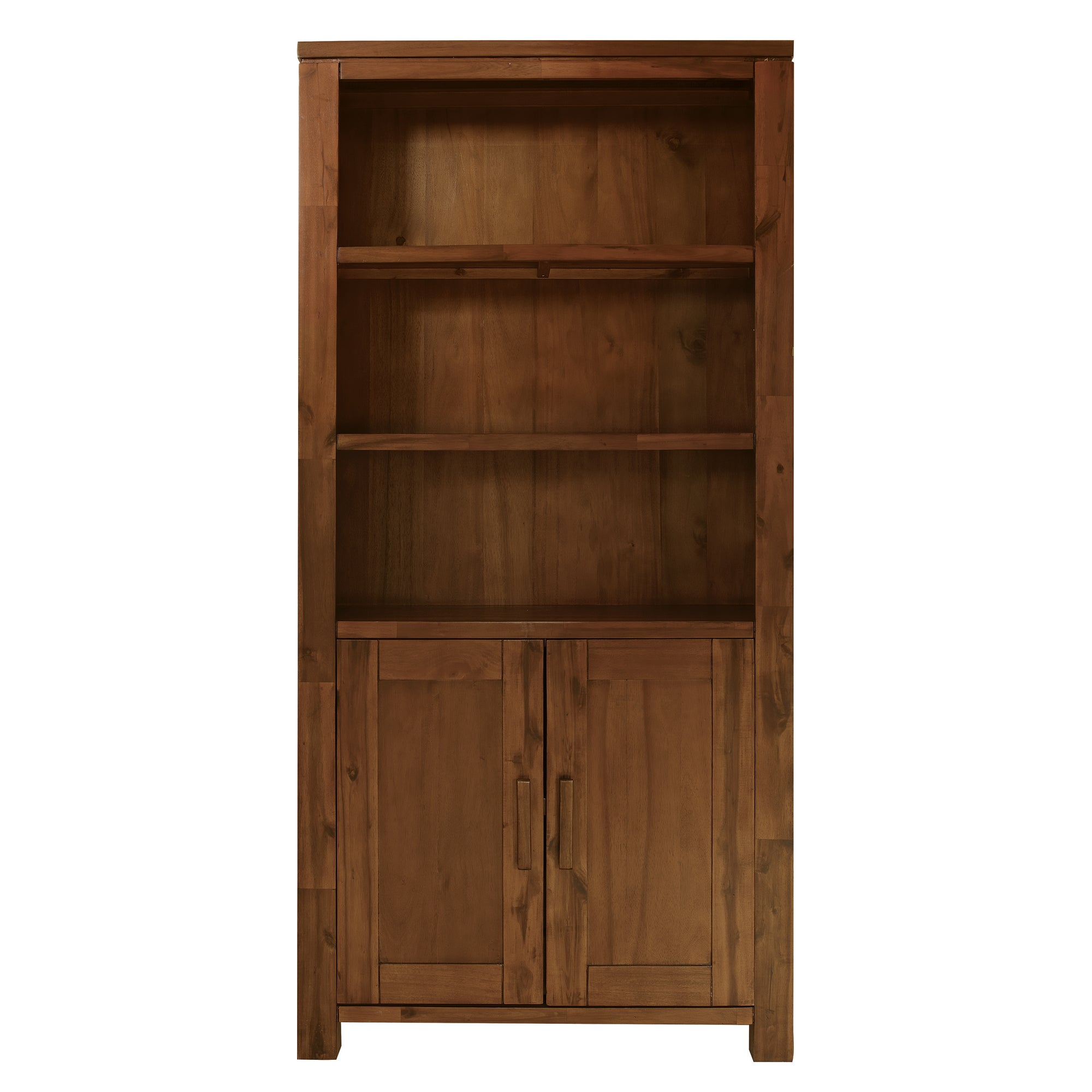 Seville Acacia Dark Wood Bookcase