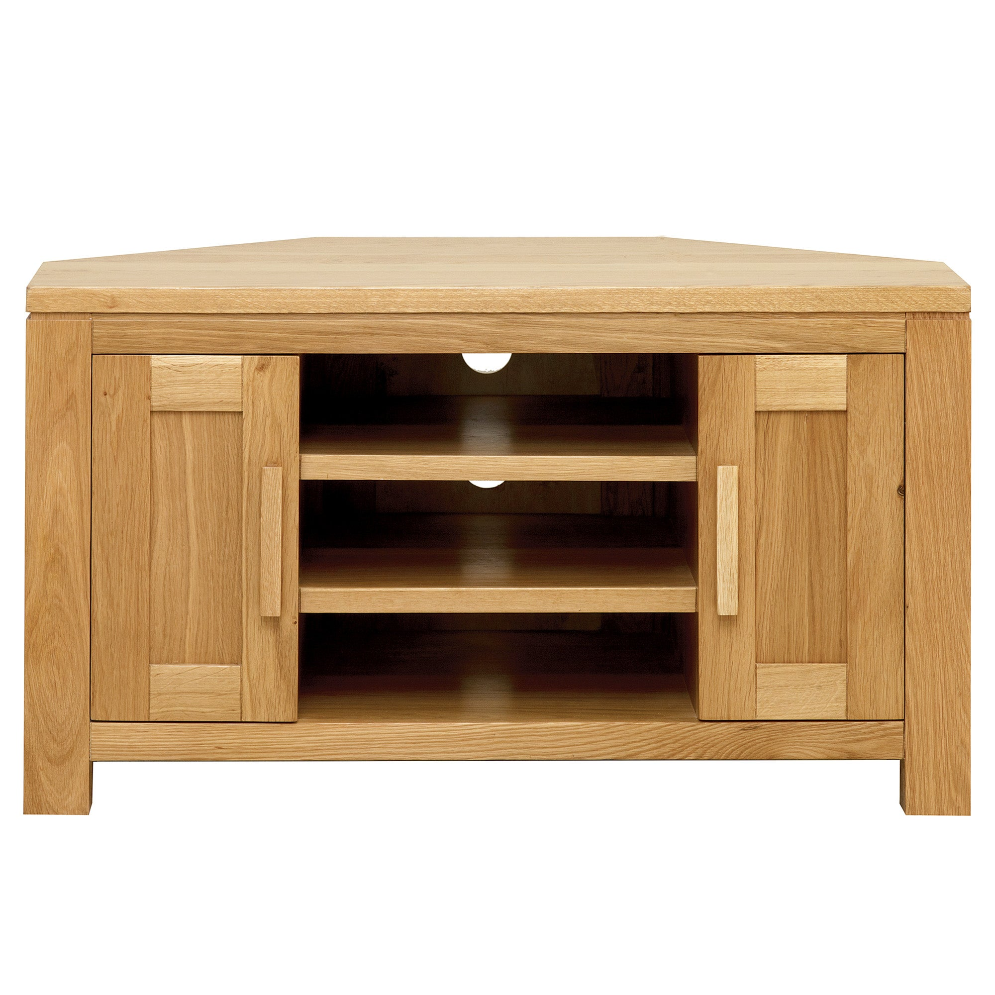 Seville Oak Corner TV Unit