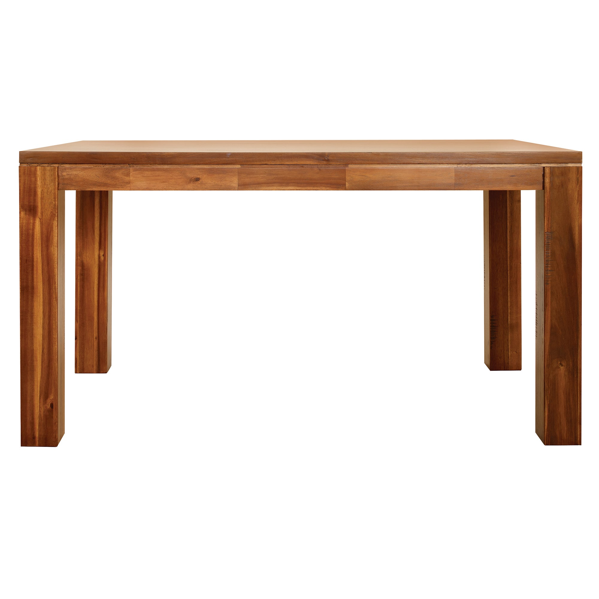 Seville Acacia Dark Wood Dining Table