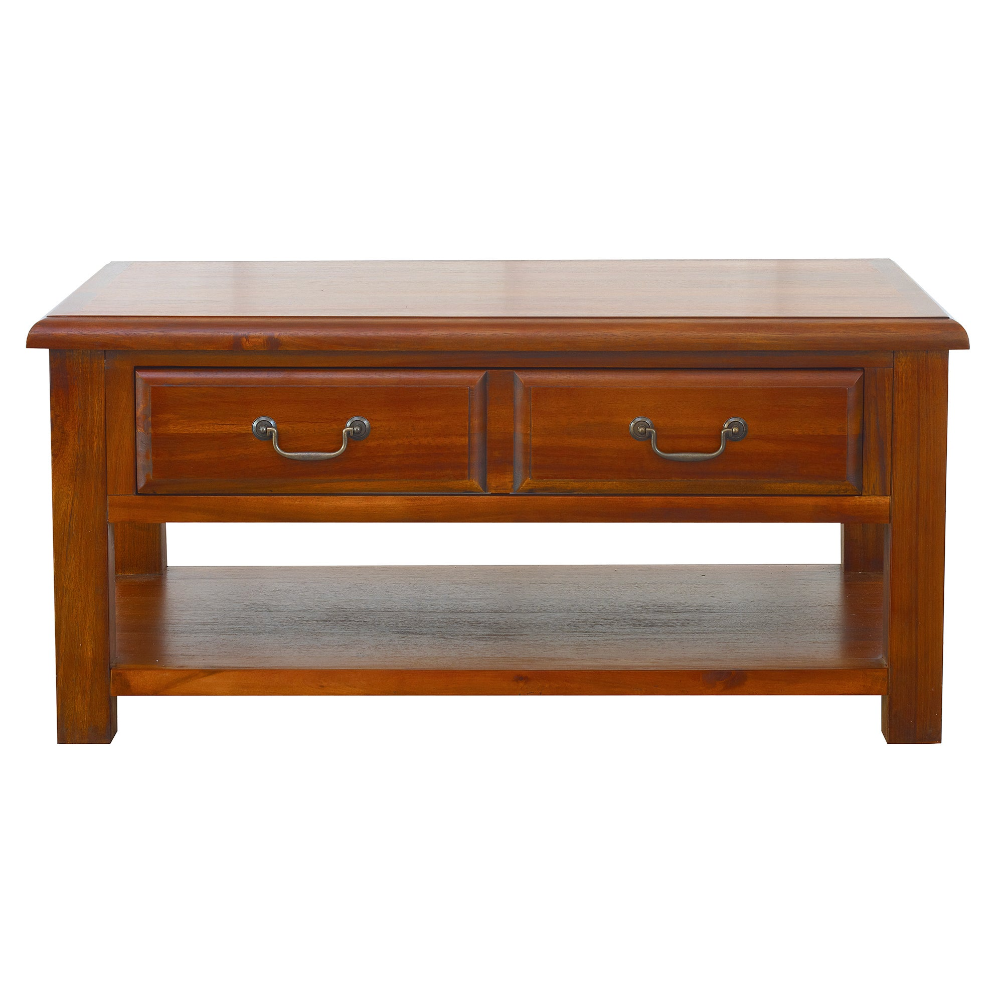 Winchester Acacia Dark Wood Coffee Table