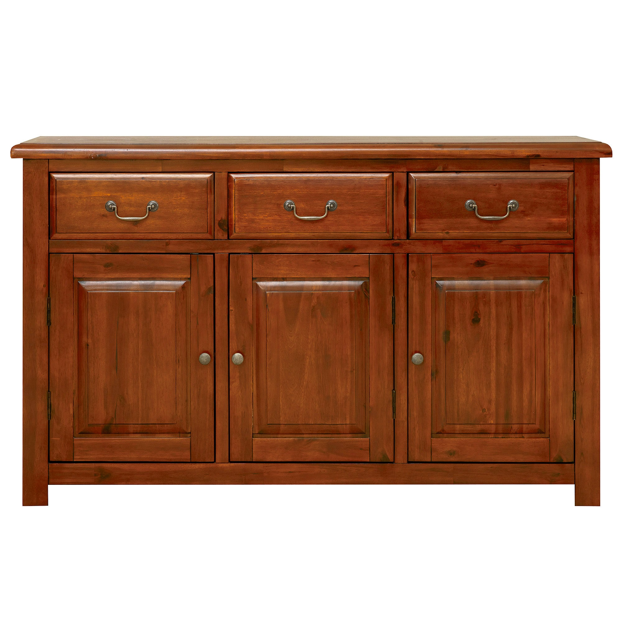 Winchester Acacia Dark Wood Large Sideboard