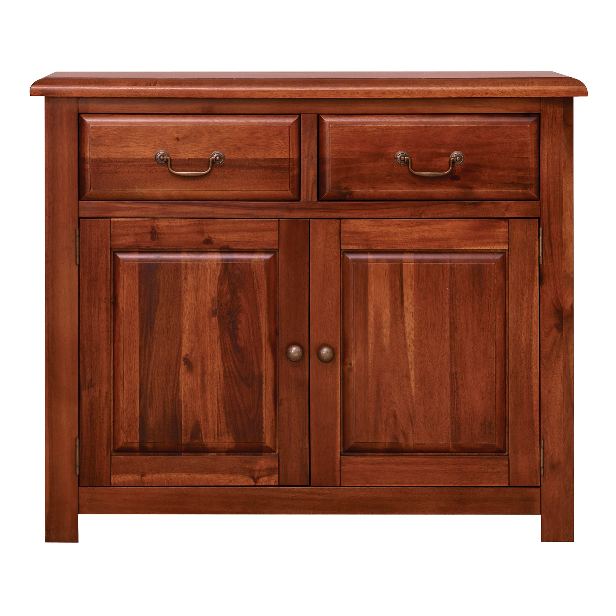 winchester acacia dark wood small sideboard dunelm