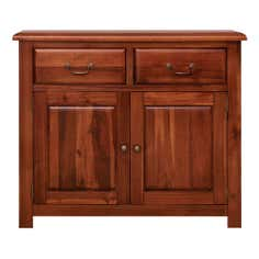 Winchester Acacia Dark Wood Small Sideboard
