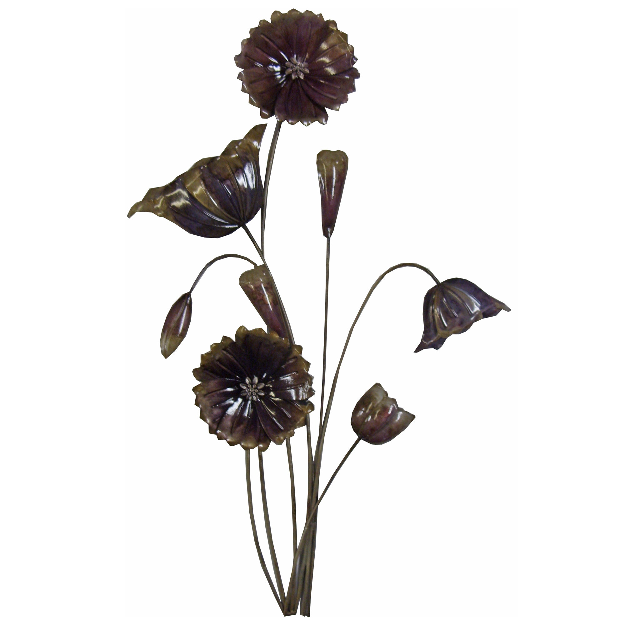 Plum Flower Metal Wall Art