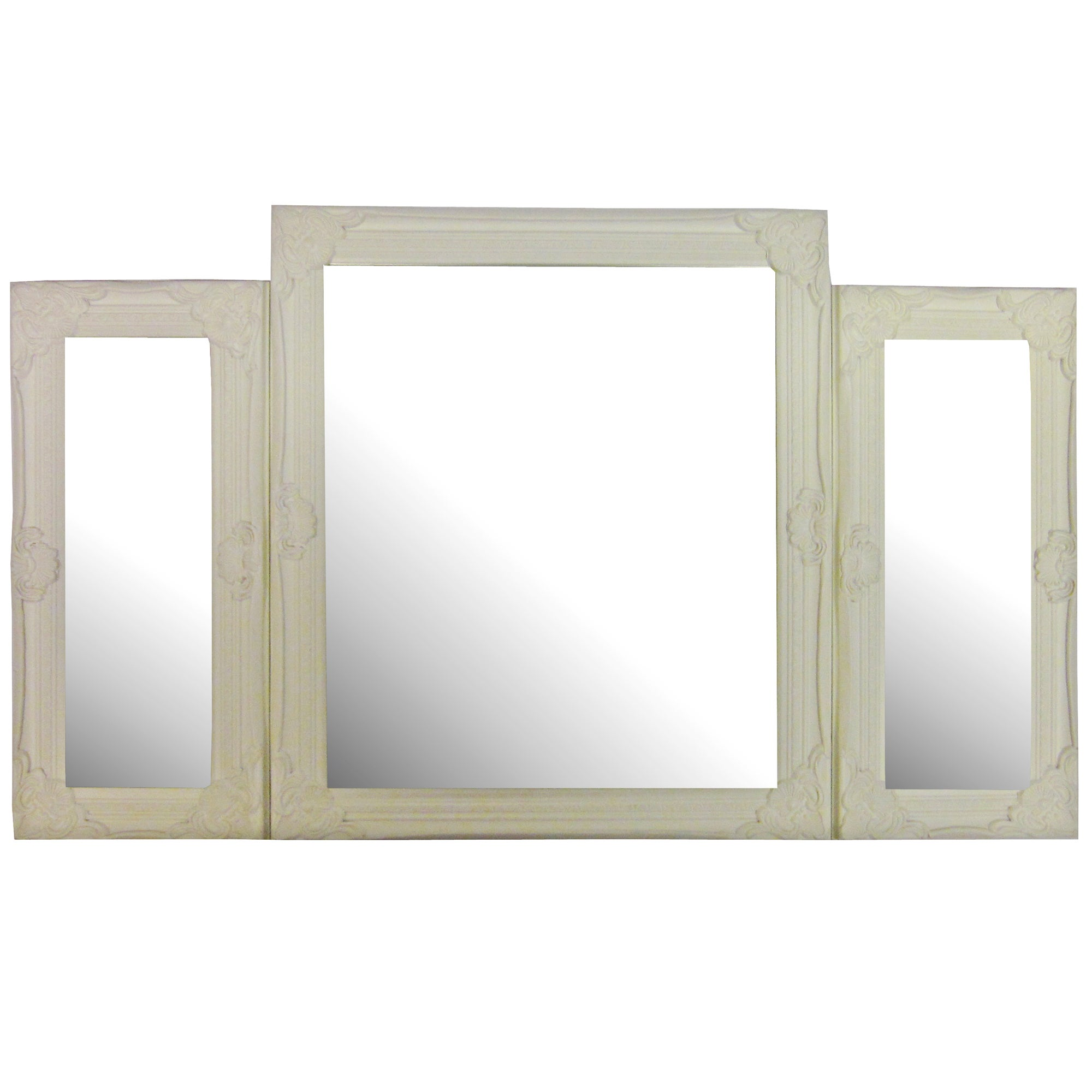 Vintage Swept Frame Table Top Mirror
