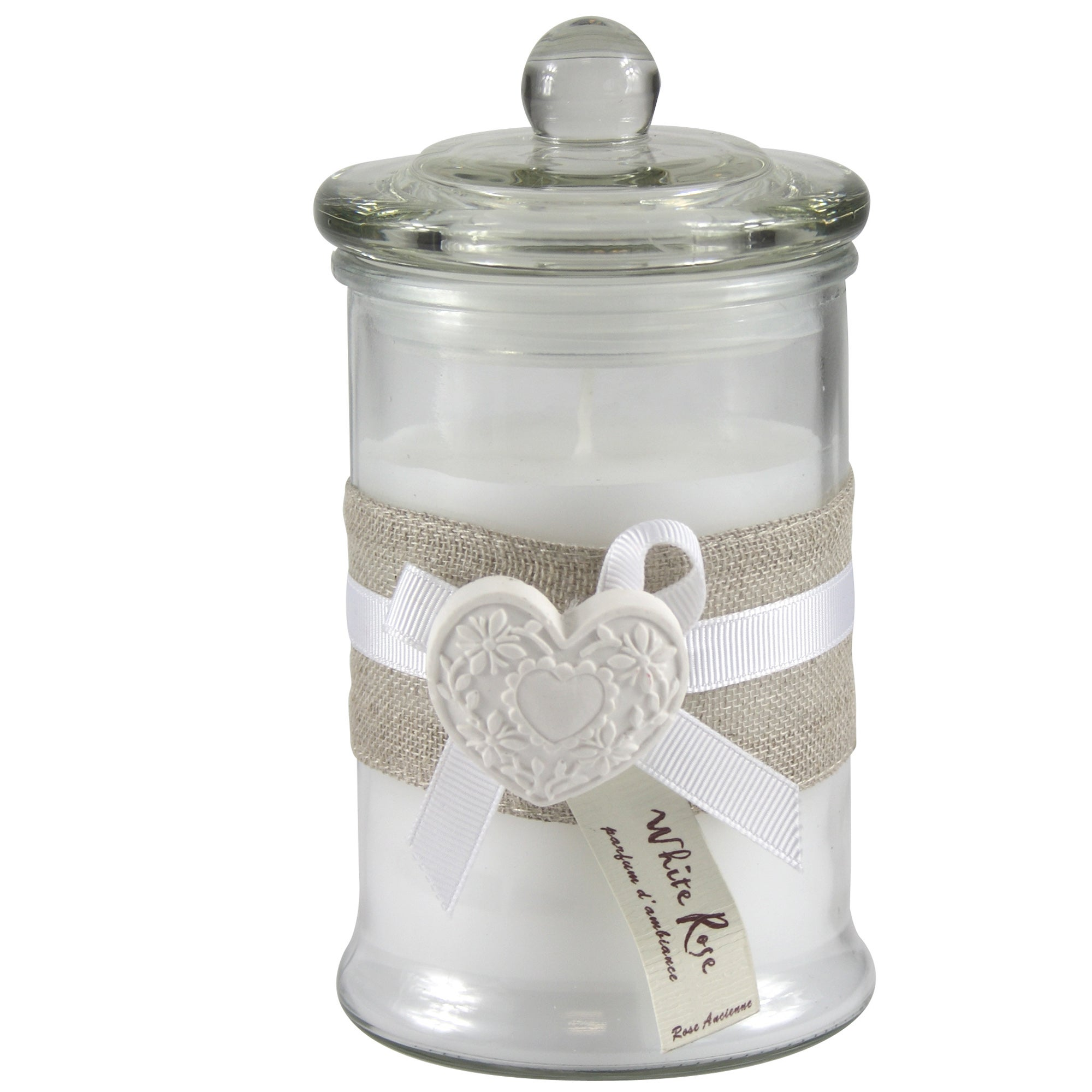 Classique Collection Glass Wax Filled Jar