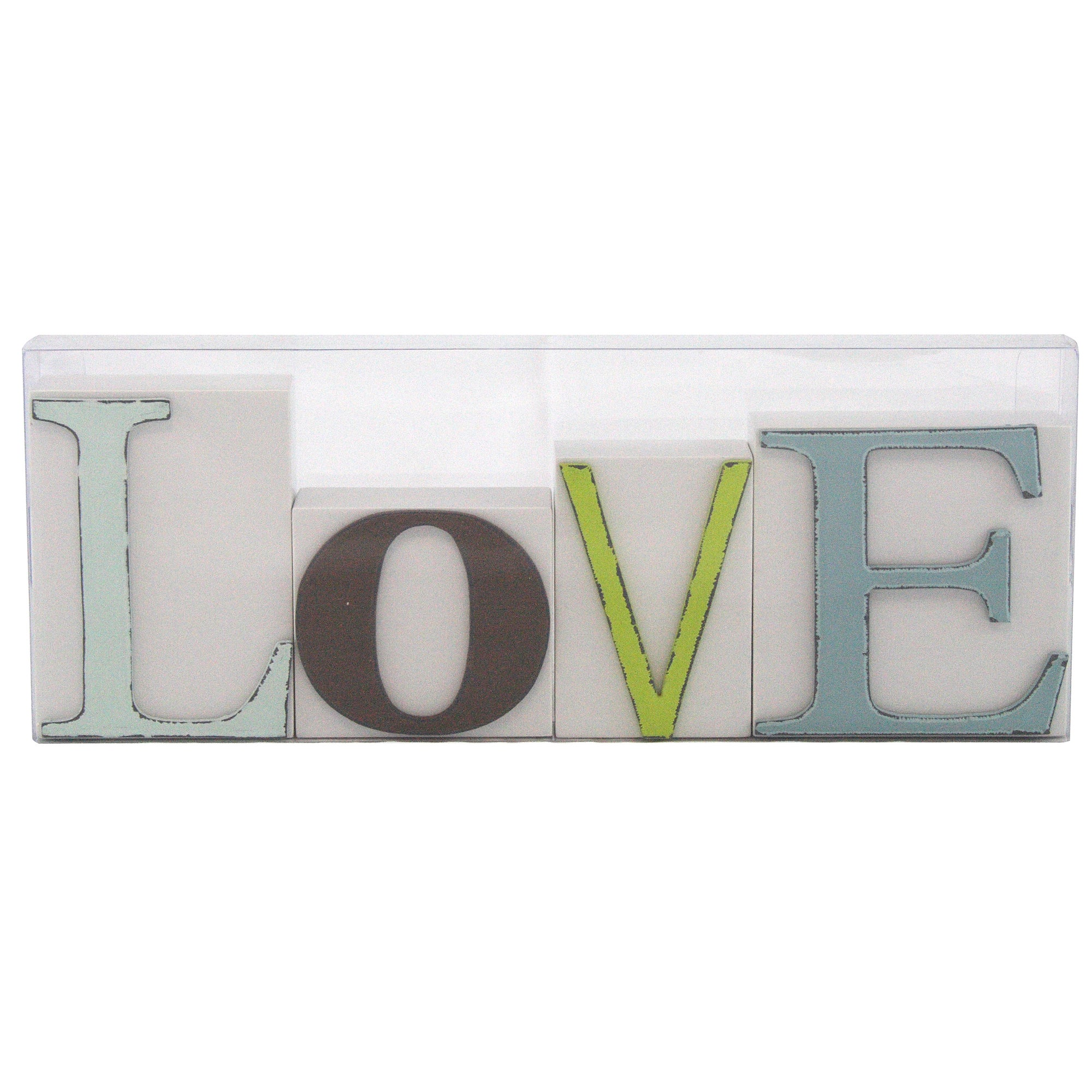 Living in Colour Collection Love Letter Blocks