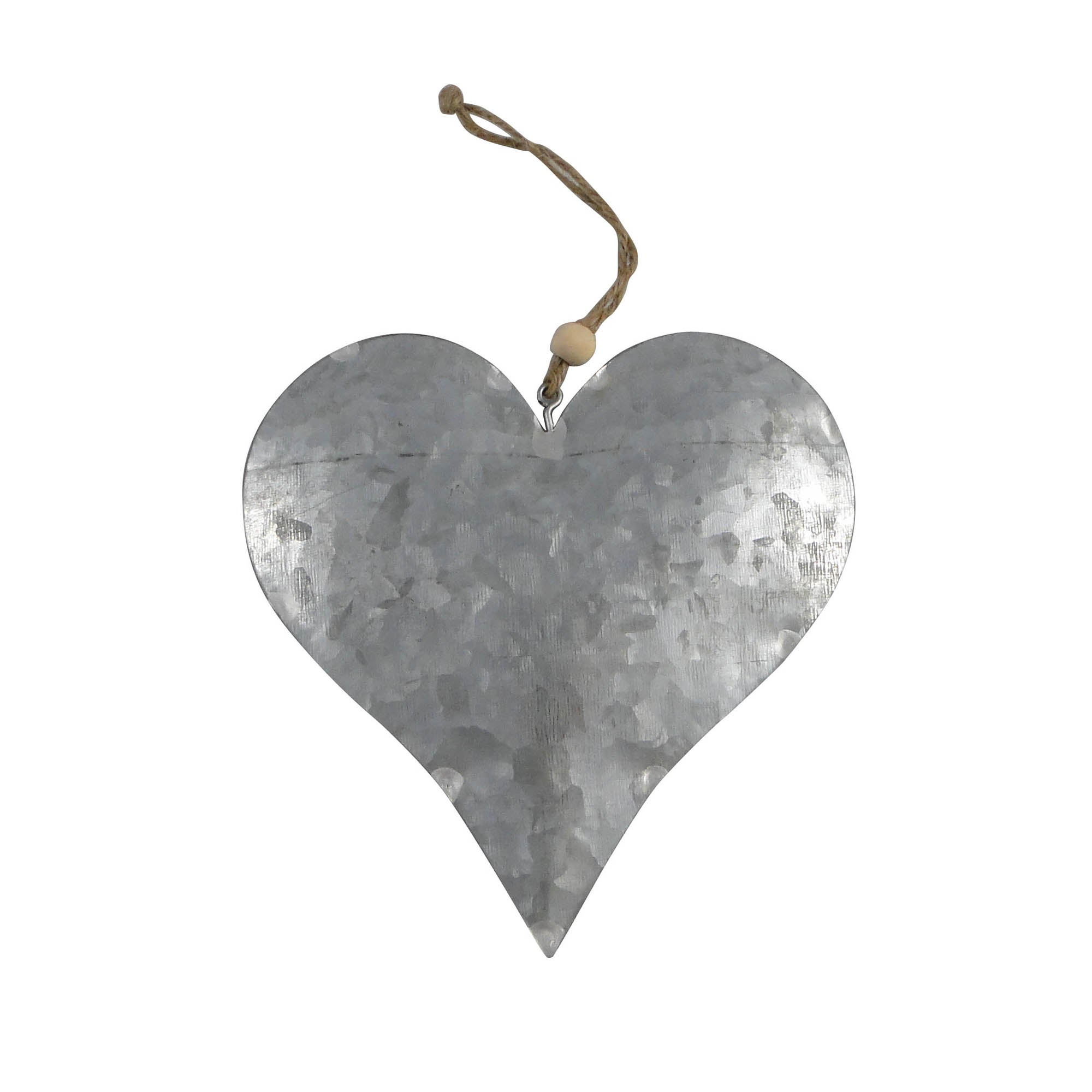 Metal Heart Hanger