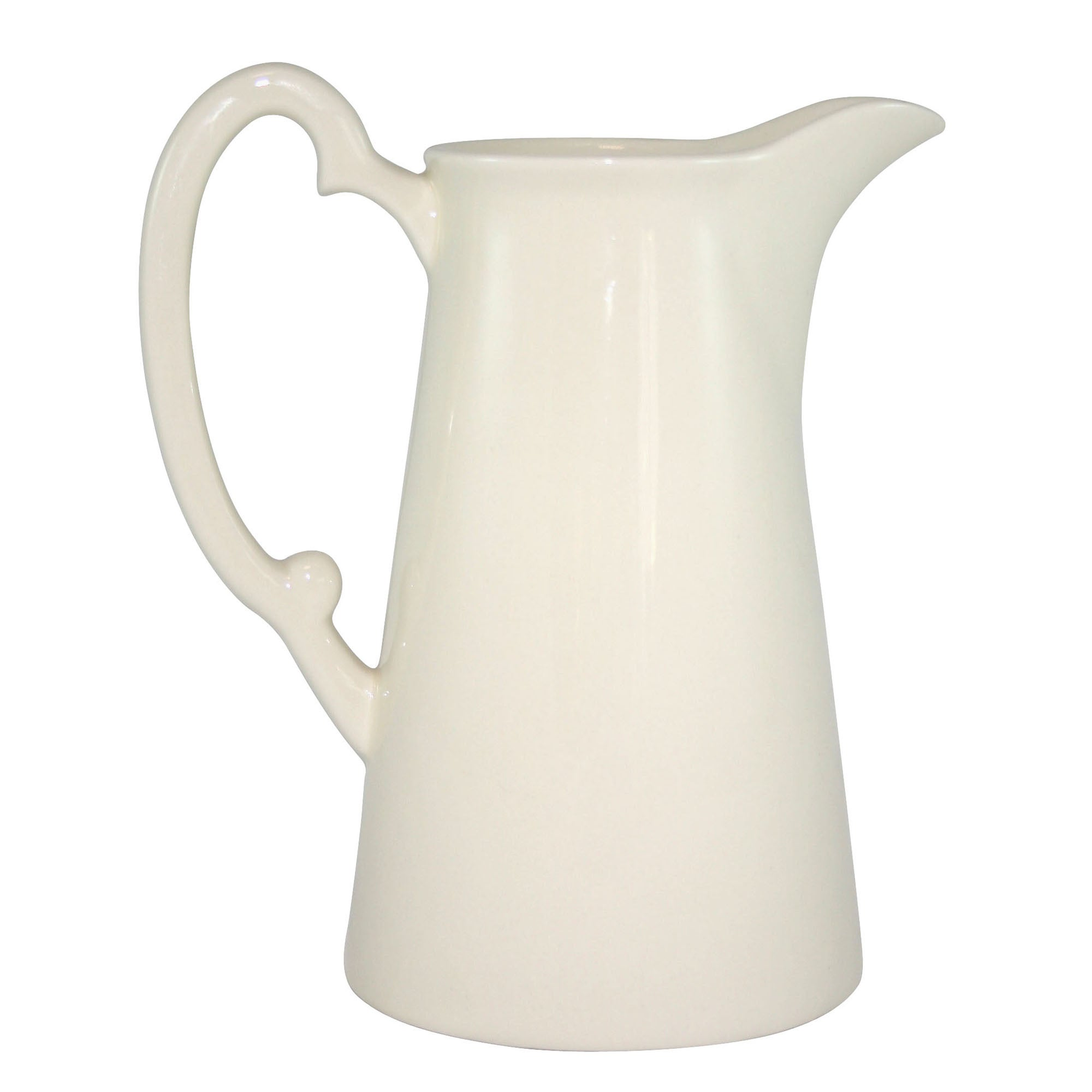 Ruby Collection Cream Fluted Jug