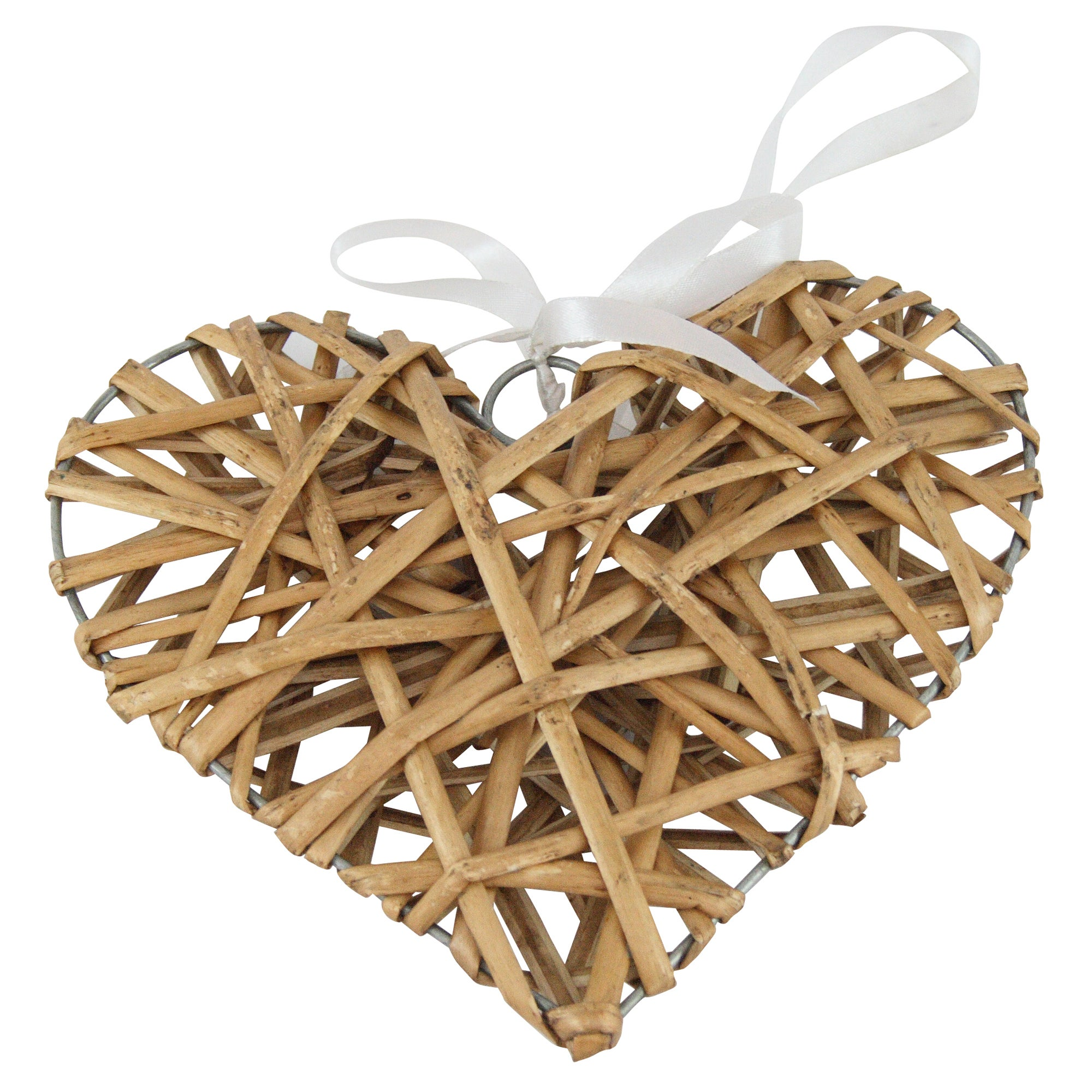 Ruby Collection Wicker Heart