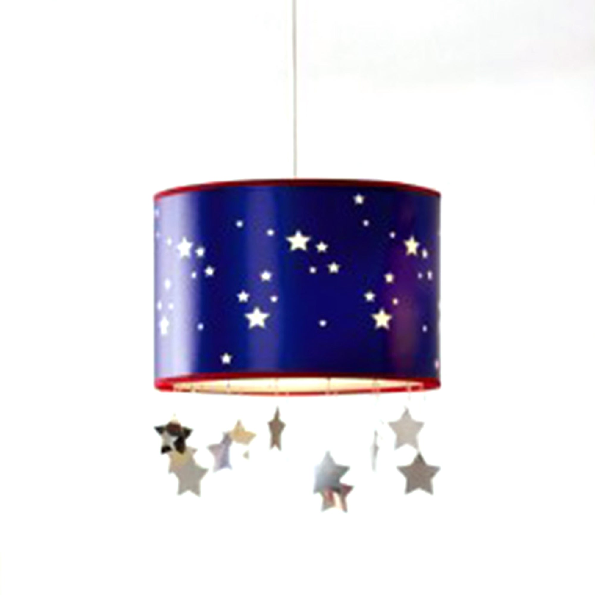 Kids Blue Stars Pendant with Mobile