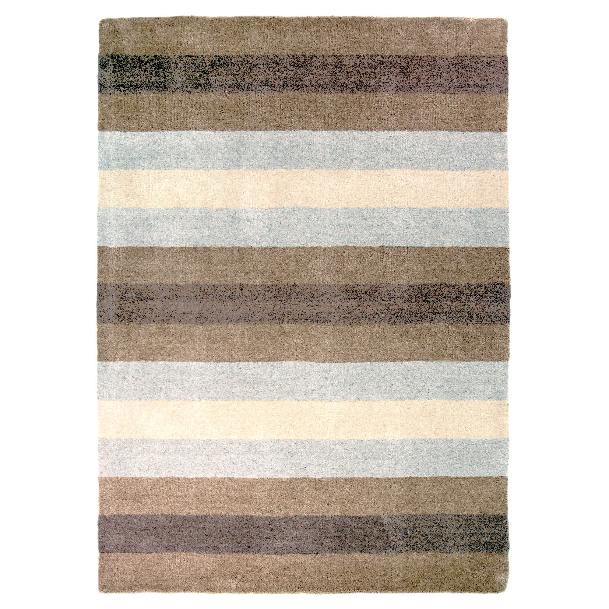 Brown Willow Wool Rug