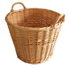 Natural Round Chestnut Basket