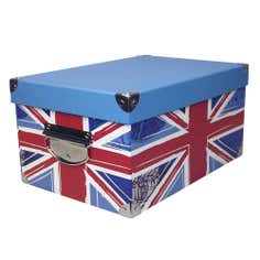 Union Jack Rectangular Storage Box