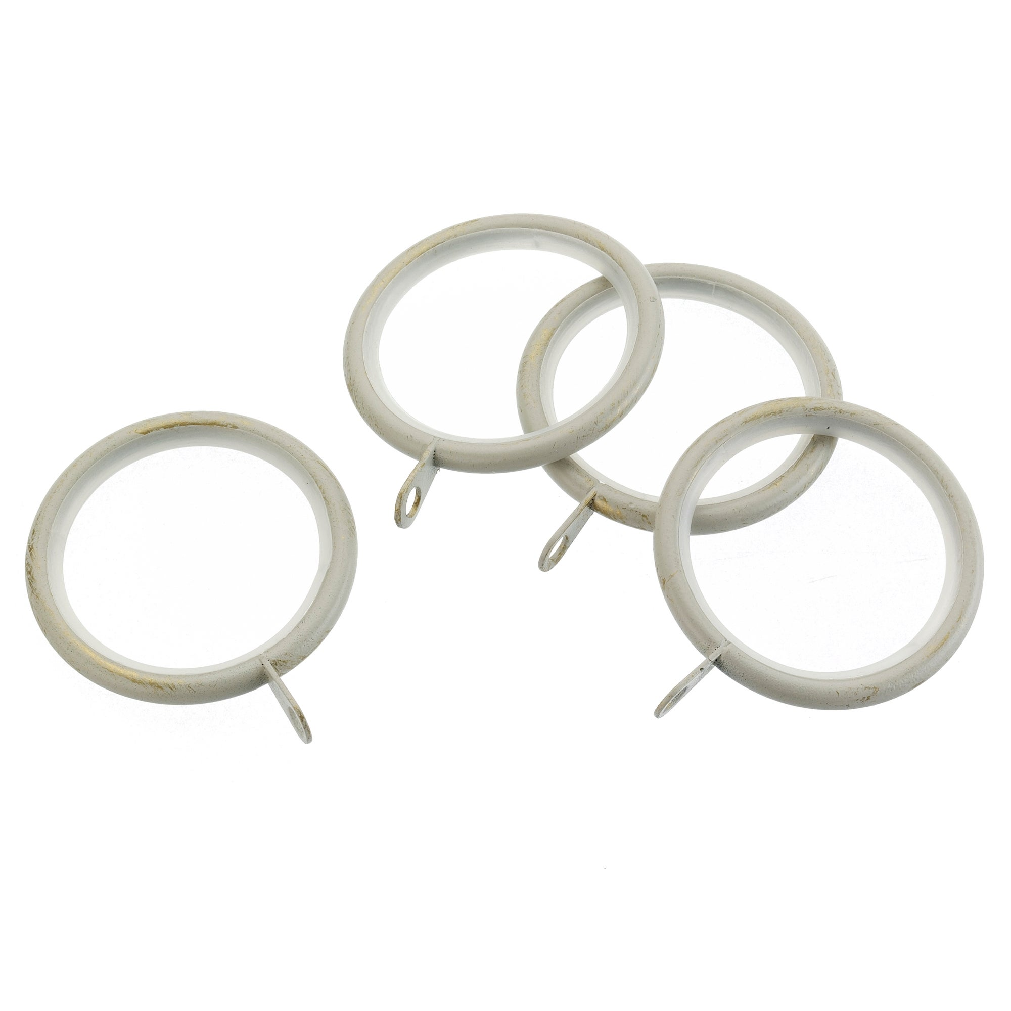 Ivory Vintage Collection Curtain Rings