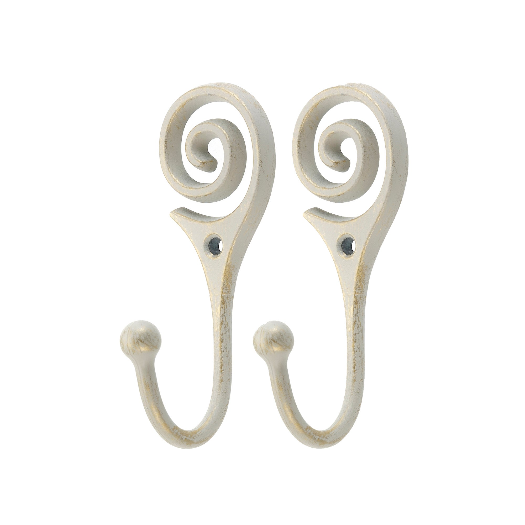 Ivory Vintage Collection Twist Hooks