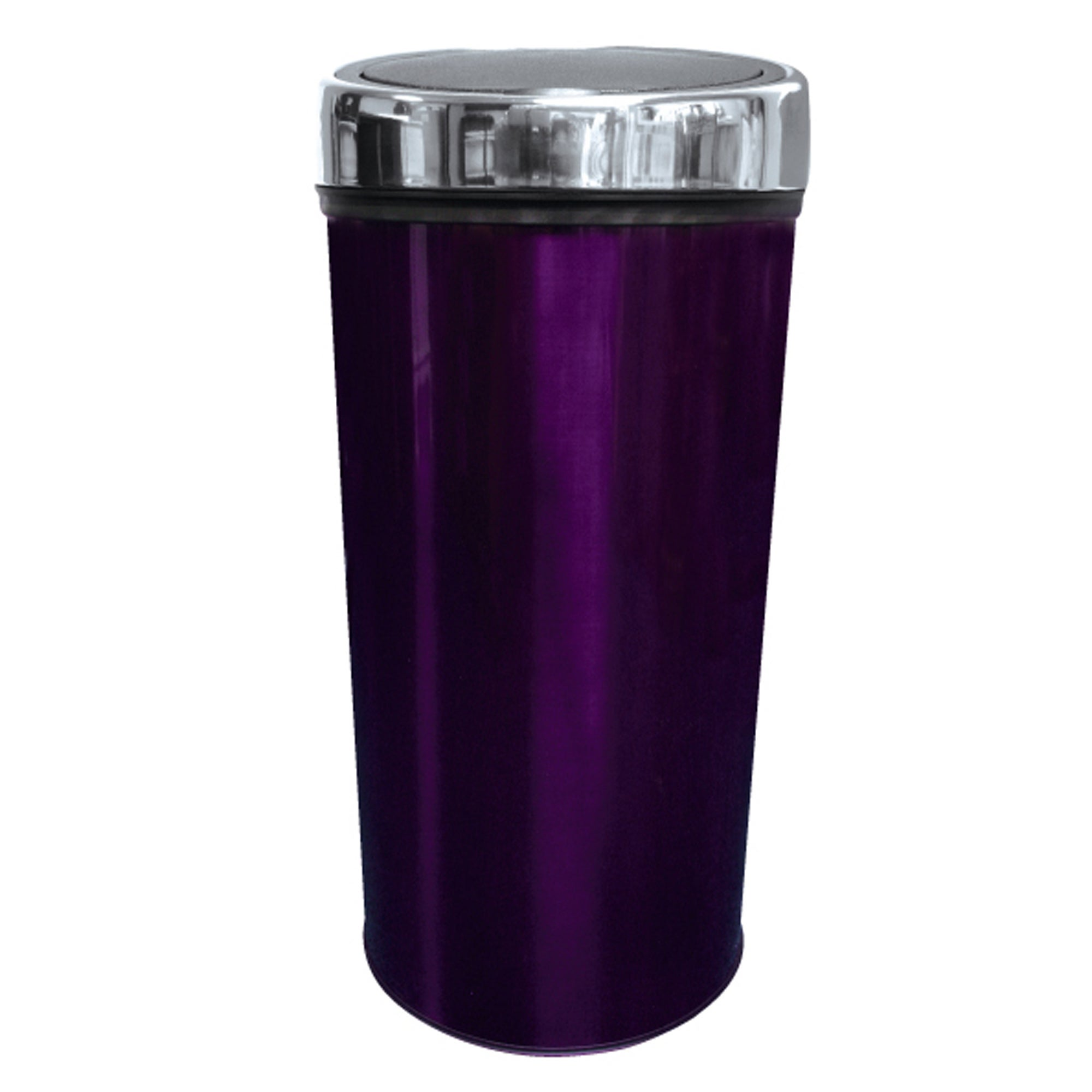 Purple Spectrum Collection 30 Litre Press Top Bin