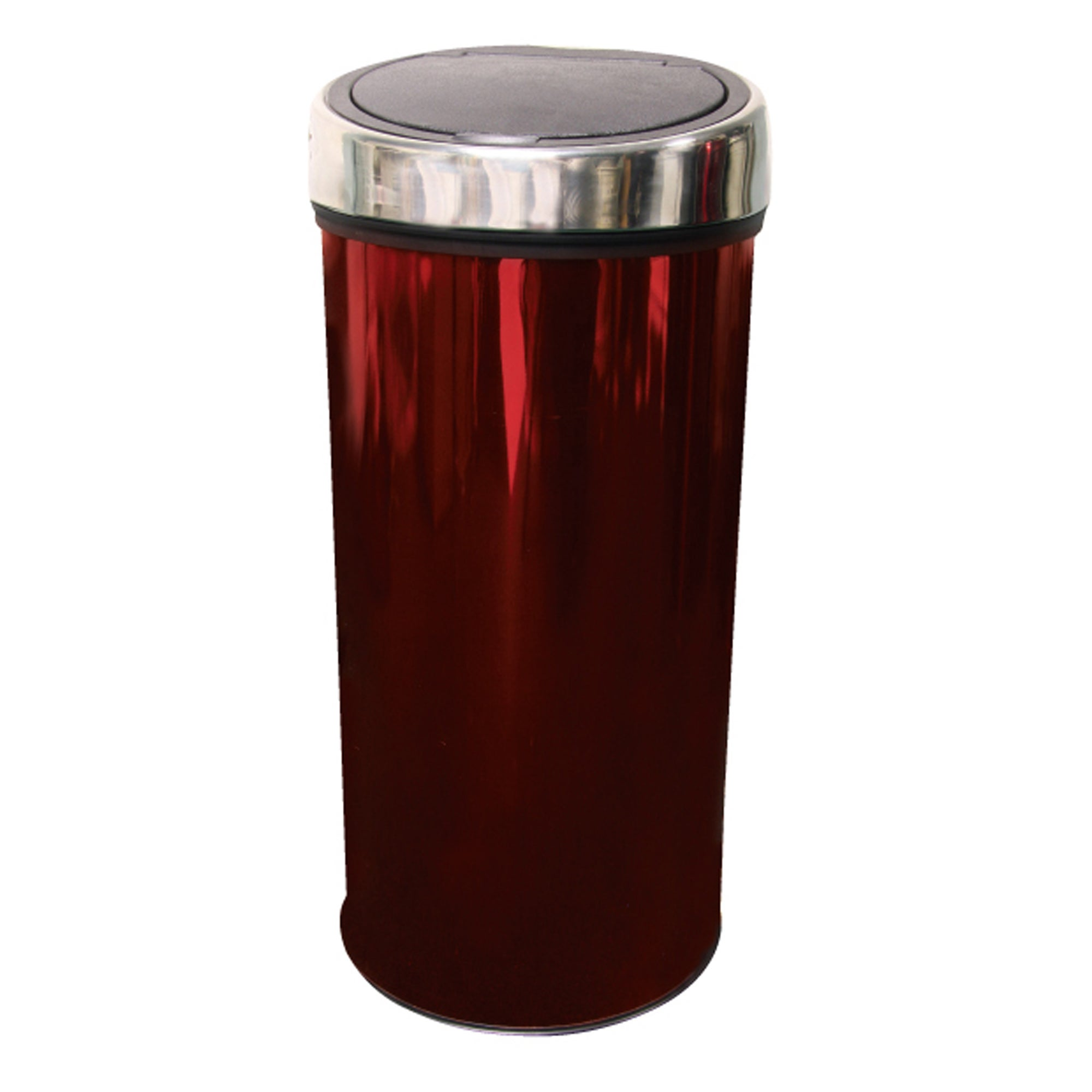 Red Spectrum Collection 30 Litre Press Top Bin