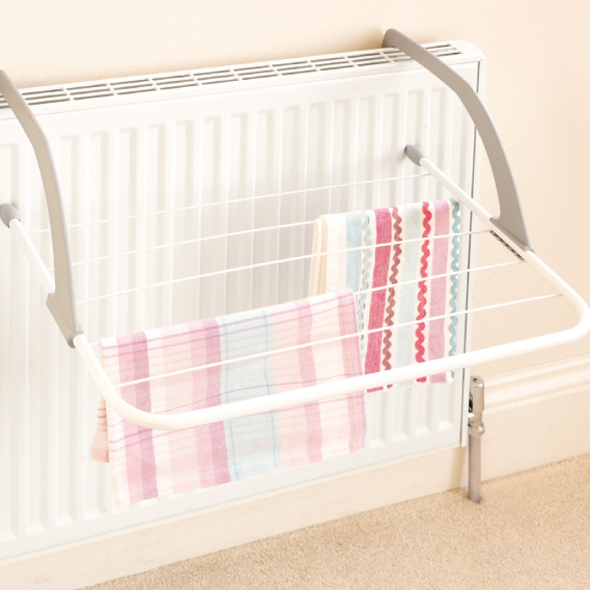 white 5 bar radiator airer dunelm. Black Bedroom Furniture Sets. Home Design Ideas
