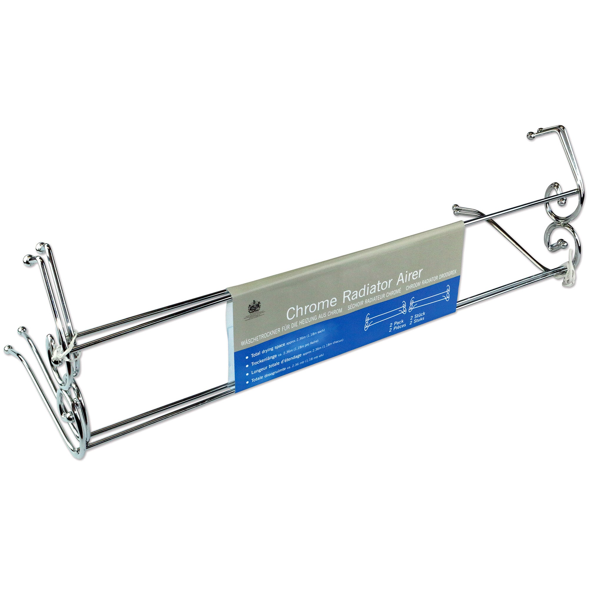 Chrome Radiator Airer