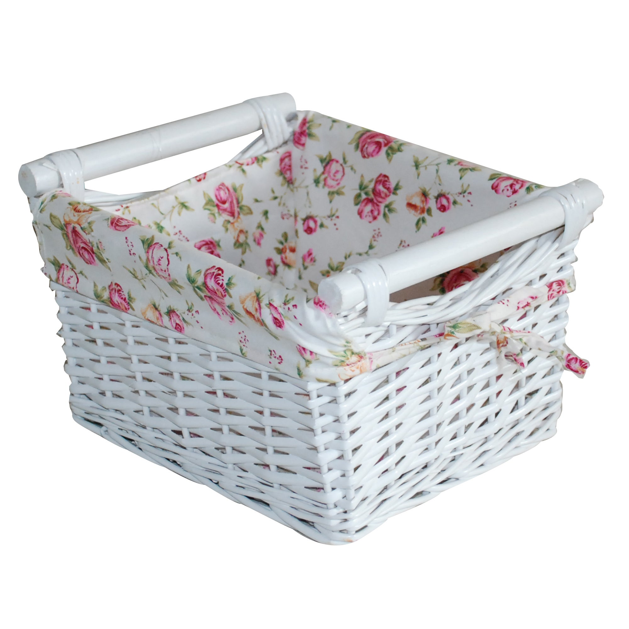 White Willow Collection Basket