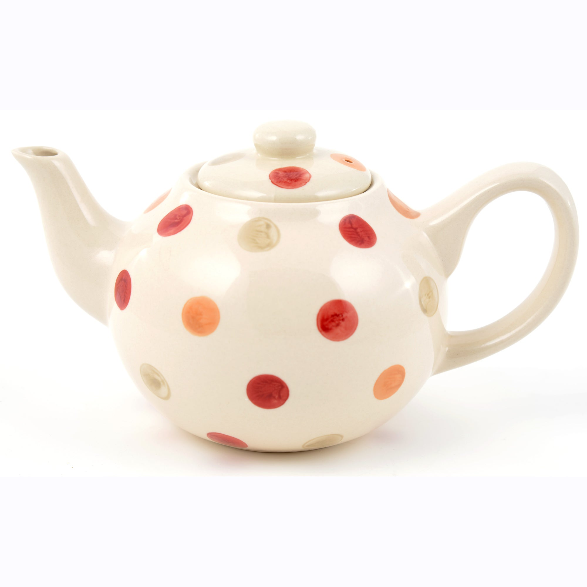 Red Country Spot Collection Teapot