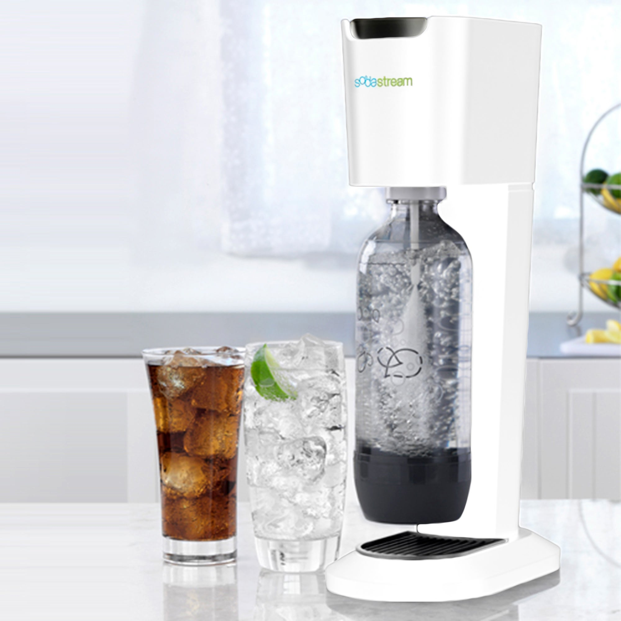 SodaStream White Genesis Drinks Maker