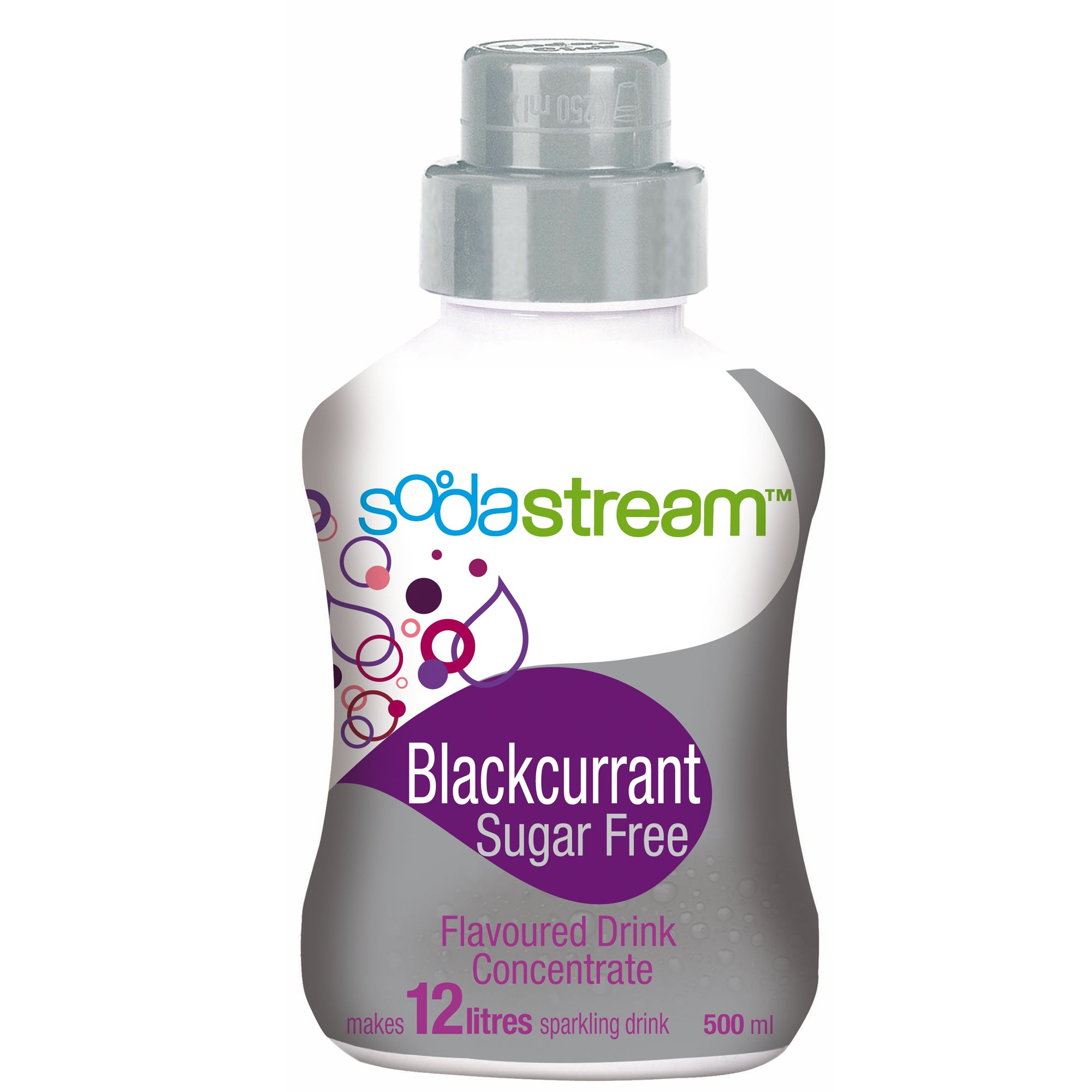 SodaStream Sugar Free Blackcurrant Refill Mixer