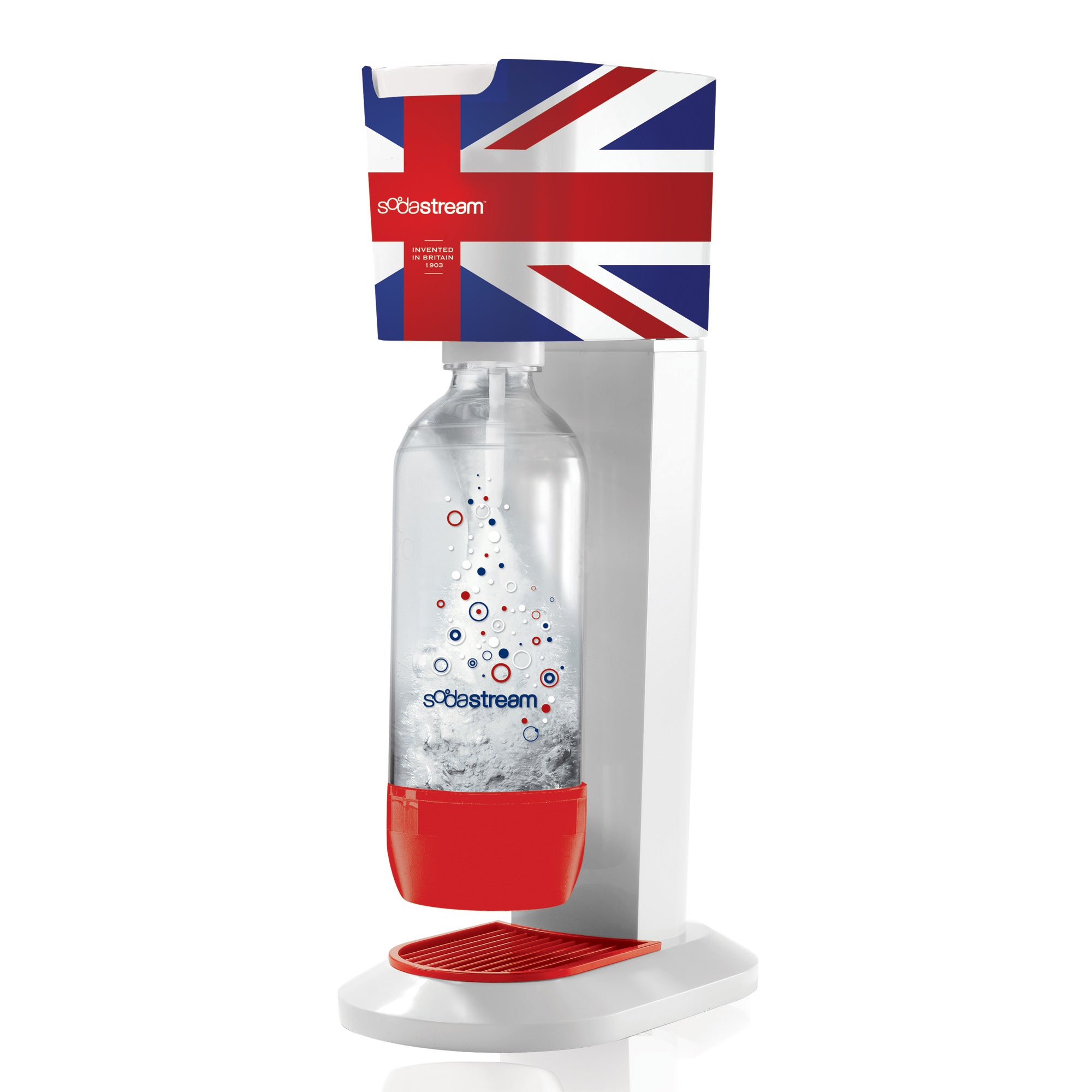 SodaStream Union Jack Genesis Drinks Maker