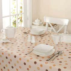 Natural Country Spots Collection Round PVC Tablecloth