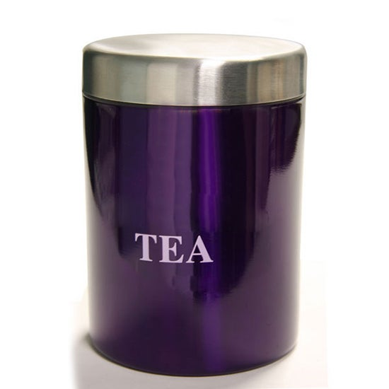 Purple Spectrum Collection Tea Canister