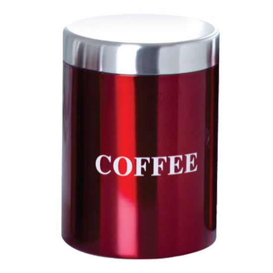 Red Spectrum Collection Coffee Canister