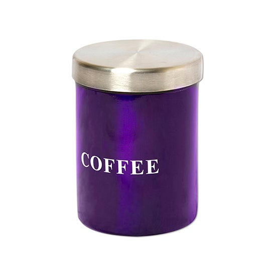 Purple Spectrum Collection Coffee Canister