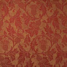 Terracotta Glencoe Thistle Fabric