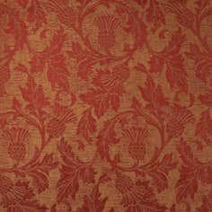 Terracotta Glencoe Thistle Fabric