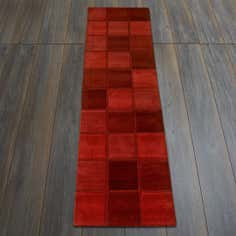 Red Quebec Wool Runner