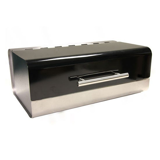 Black Spectrum Collection Bread Bin