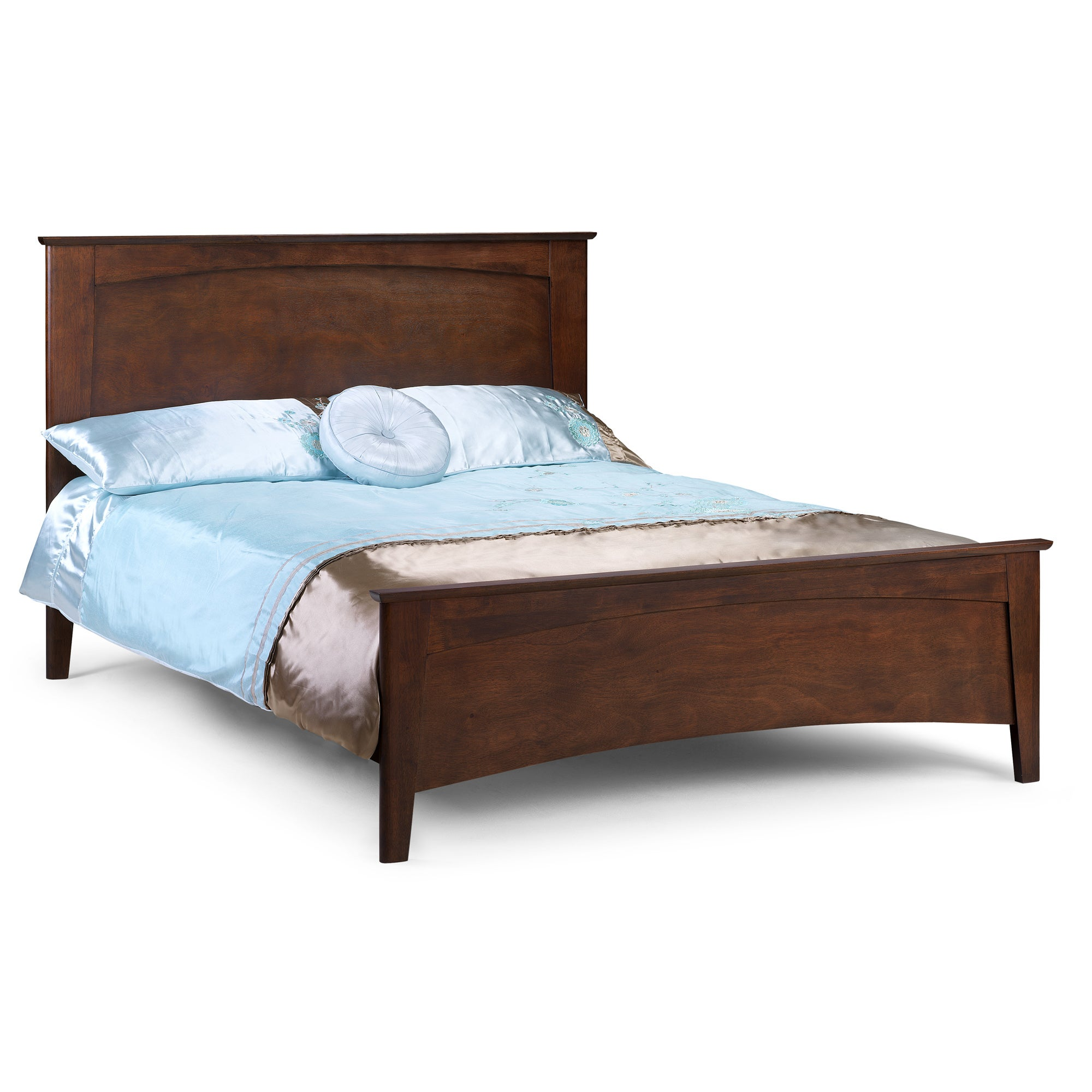 Monet Dark Wood Kingsize Bedstead